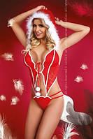 Костюм снегурочки игровой эротический, сексуальный, Livia Corsetti (эротическое, сексуальное нижнее белье)