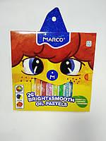 Пастели масляные Marko 24 цвета профессиональные