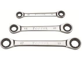 Ключ накидной с трещоткой 16х18мм TOPTUL AEAR1618
