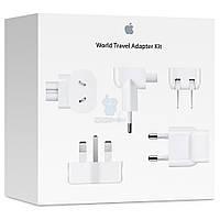 Оригинальный комплект переходников, Apple World Travel Adapter Kit (MD837)