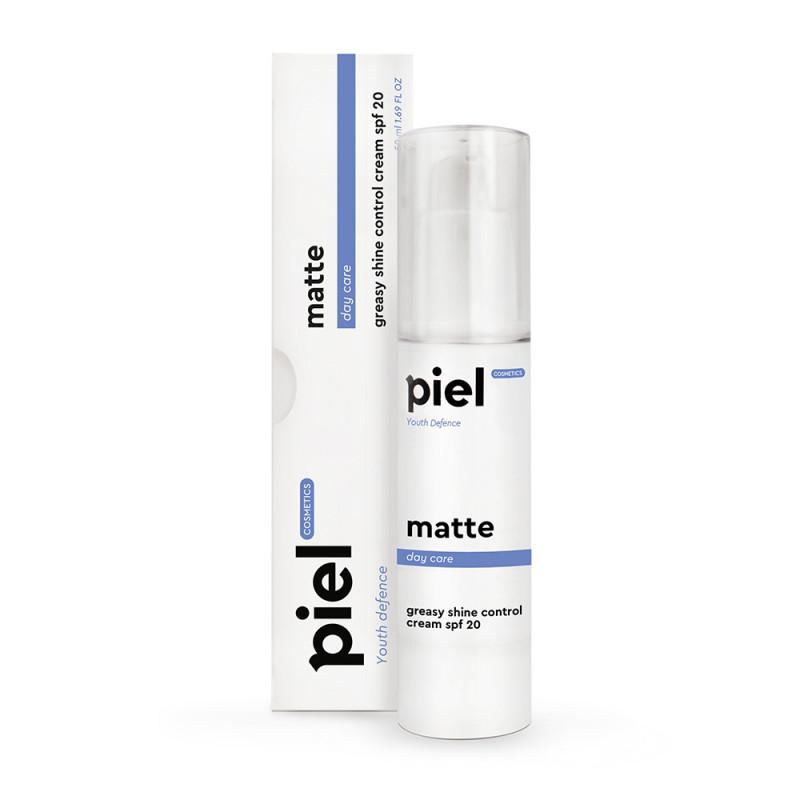 Крем для лица матирующий Youth Defense Silver Cream Matte SPF 20 Пьель Косметик Piel Cosmetics 50мл
