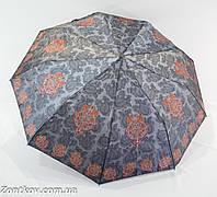 "Зонт женский полуавтомат сатин с турецким орнаментом от фирмы ""Universal"""