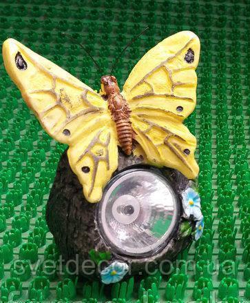 """Газонный светильник Lemanso на солнечной батарее """"Бабочки"""""""