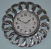 Годинник на стіну сталевий (40х40х4 см.)