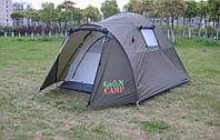 Палатка туристическая  двухместная  Green Camp 3006 (двухслойная)