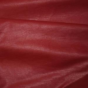 Кожзам на хб основе красный (от 10 метров)