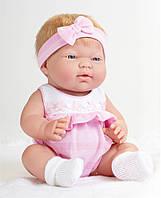 Большая кукла пупс Девочка блондинка Berenguer 18381 Ani 33 см