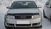 Дефлектор капота, мухобойка Audi A4 (8Е,В6) 2001-2005 VIP