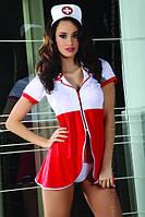 Костюм медсестры игровой эротический, сексуальный, Livia Corsetti (эротическое, сексуальное нижнее белье)