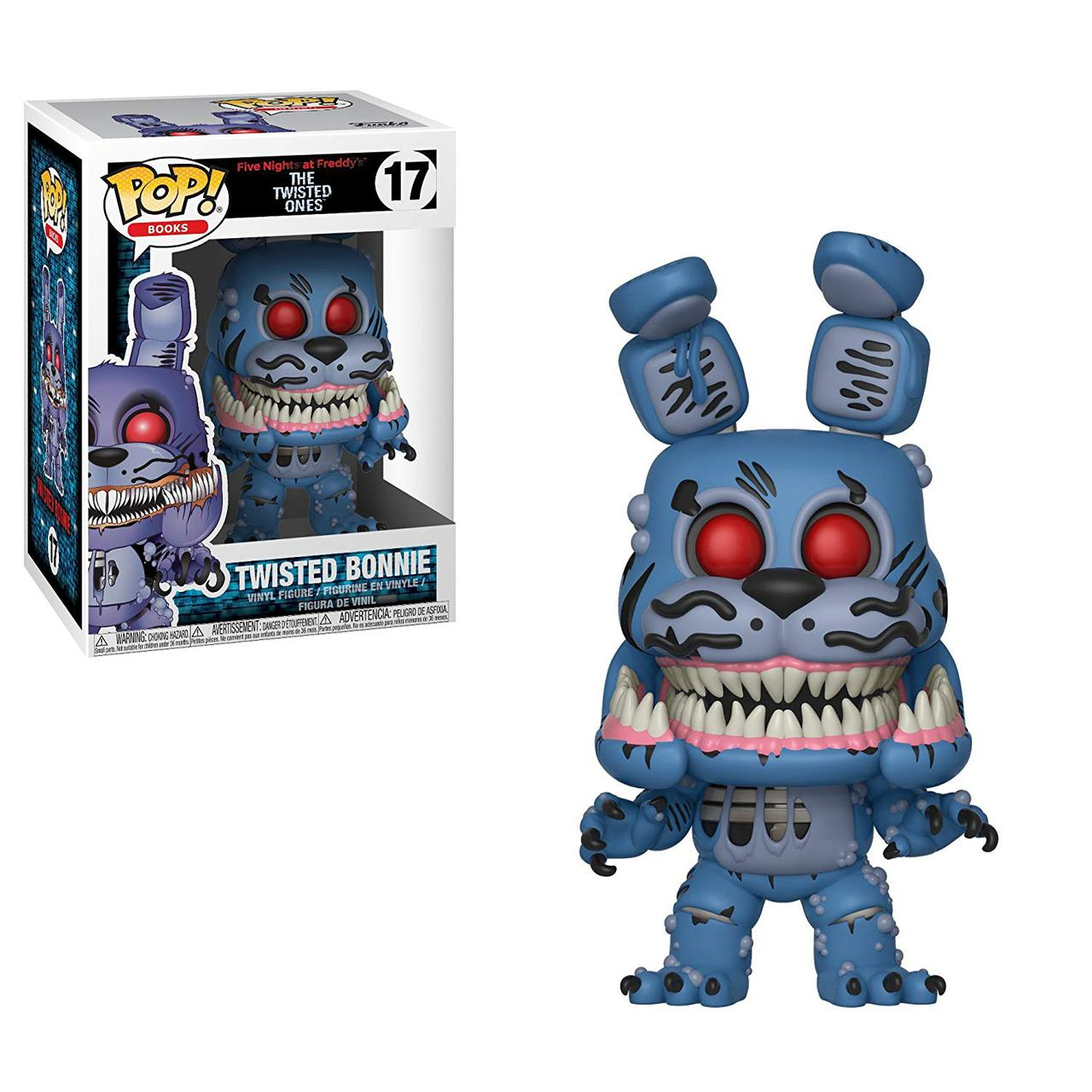 Фигурки 5 ночей с Фредди Funko Pop Books: Five Nights At Freddy's-Twisted Bonnie Collectible Figure,Multicolor
