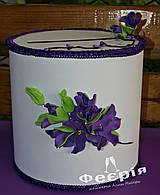 Свадебный сундук казна коробка для денег фиолетовая