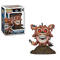 Фигурки 5 ночей с Фредди Funko Pop Books: Five Nights At Freddy's Twisted Foxy Collectible Figure, Multicolor
