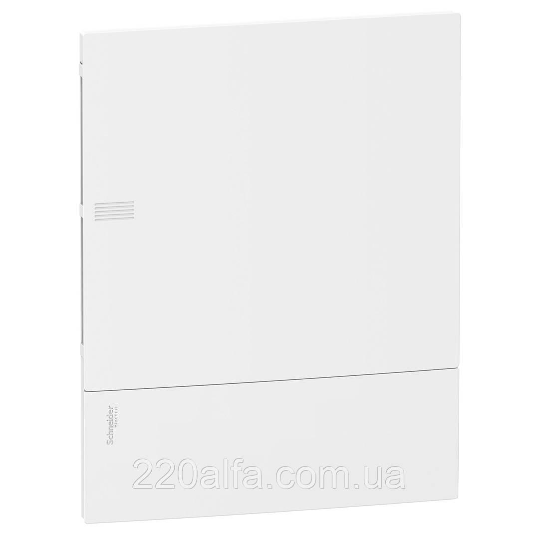 Внутренний щиток на 24 автомата MINI PRAGMA SCHNEIDER ELECTRIC ( белая дверь)