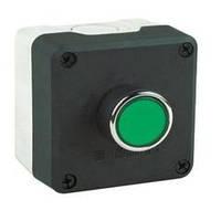Пост управления черно-серый  1 кнопочный (1НО) ЭМАС