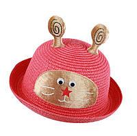 Шляпка с ушками детская