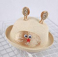 Детская шляпка летняя девочке