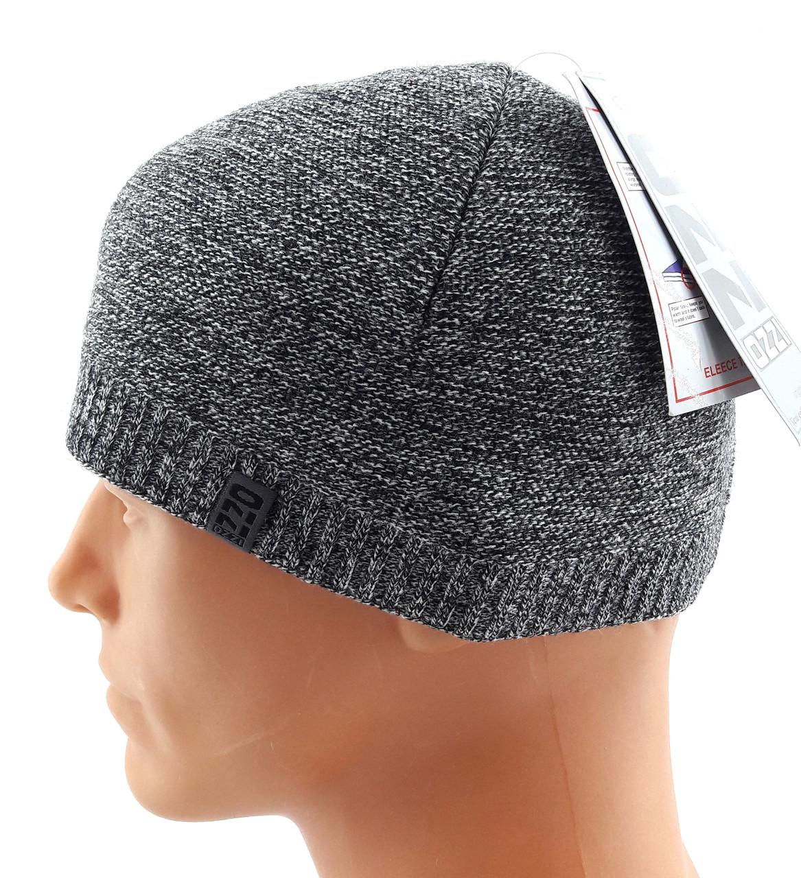 вязаная шапка мужская польская Ozzi размер универсальный шб47
