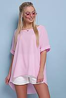 Свободная розовая туника, фото 1