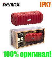 Колонка Remax Bluetooth RB-M12 360° Outdoor waterproof red, фото 1