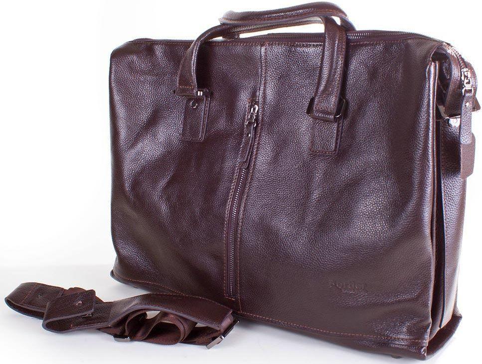 Кожаная сумка ETERNO ET2850-8-brown