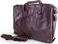 Мужская, оригинальная, городская кожаная сумка ETERNO (ЭТЭРНО) ET2850-8-brown