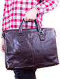 Кожаная сумка ETERNO ET2850-8-brown, фото 2