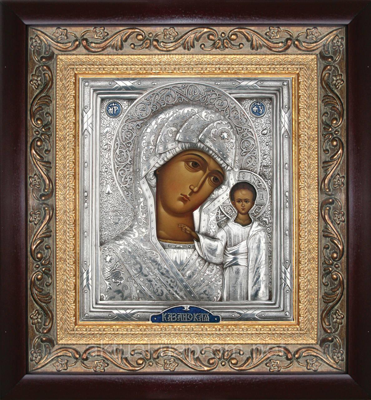 Икона Казанская  Богородица триптих