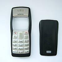 Передняя и задняя панель, корпус, клавиатура для Nokia 1100 RH-18, (Б/У, снято с разборки), фото 1