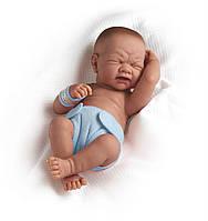Большая кукла пупс Плачущий мальчик Berenguer 18502 36 см