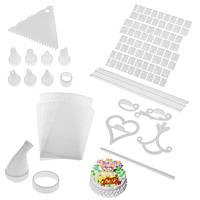 Набор для украшения тортов 400 Piece Cake Decoration Kit, набор для декорации торта, набор для украшения торто