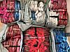 Набор из 4+1 прозрачных сумок в роддом сумка - S,M,L,XL - Красные, фото 7