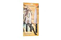 Набор из 3-х кухонных ножей (шеф, универсальный и овощной нож) Samura HARAKIRI SHR-0220WO
