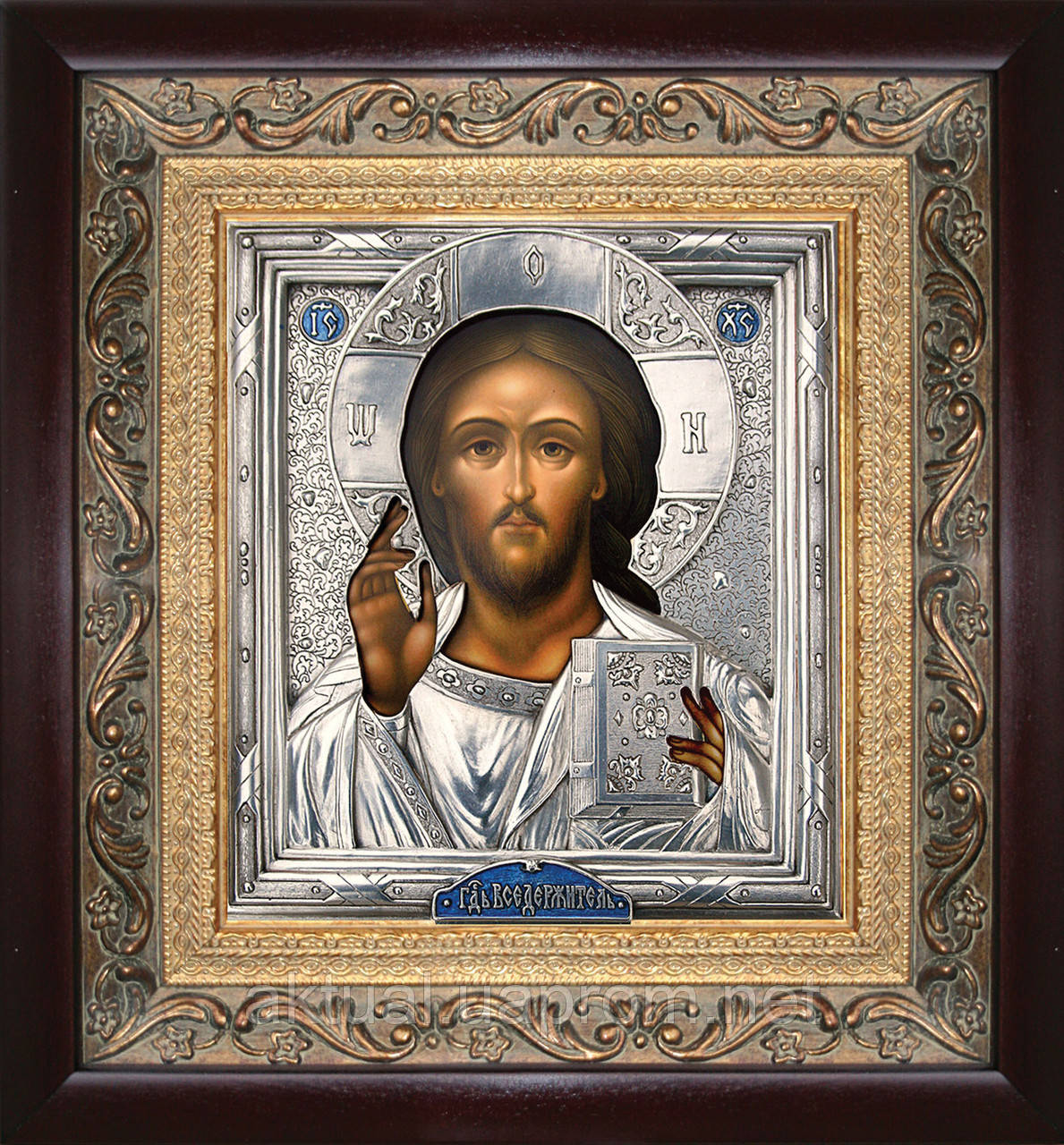 Икона Иисус Христос (из пары Казанская триптих)