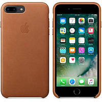 Оригинальный кожаный чехол для iPhone7 Plus  Brown