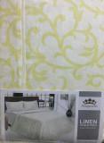 Комплект постельного белья двуспальный 1 р.21цвет7 шр.уп.(подод. 215*175, прост.220*214 нав.50*70)100%лен