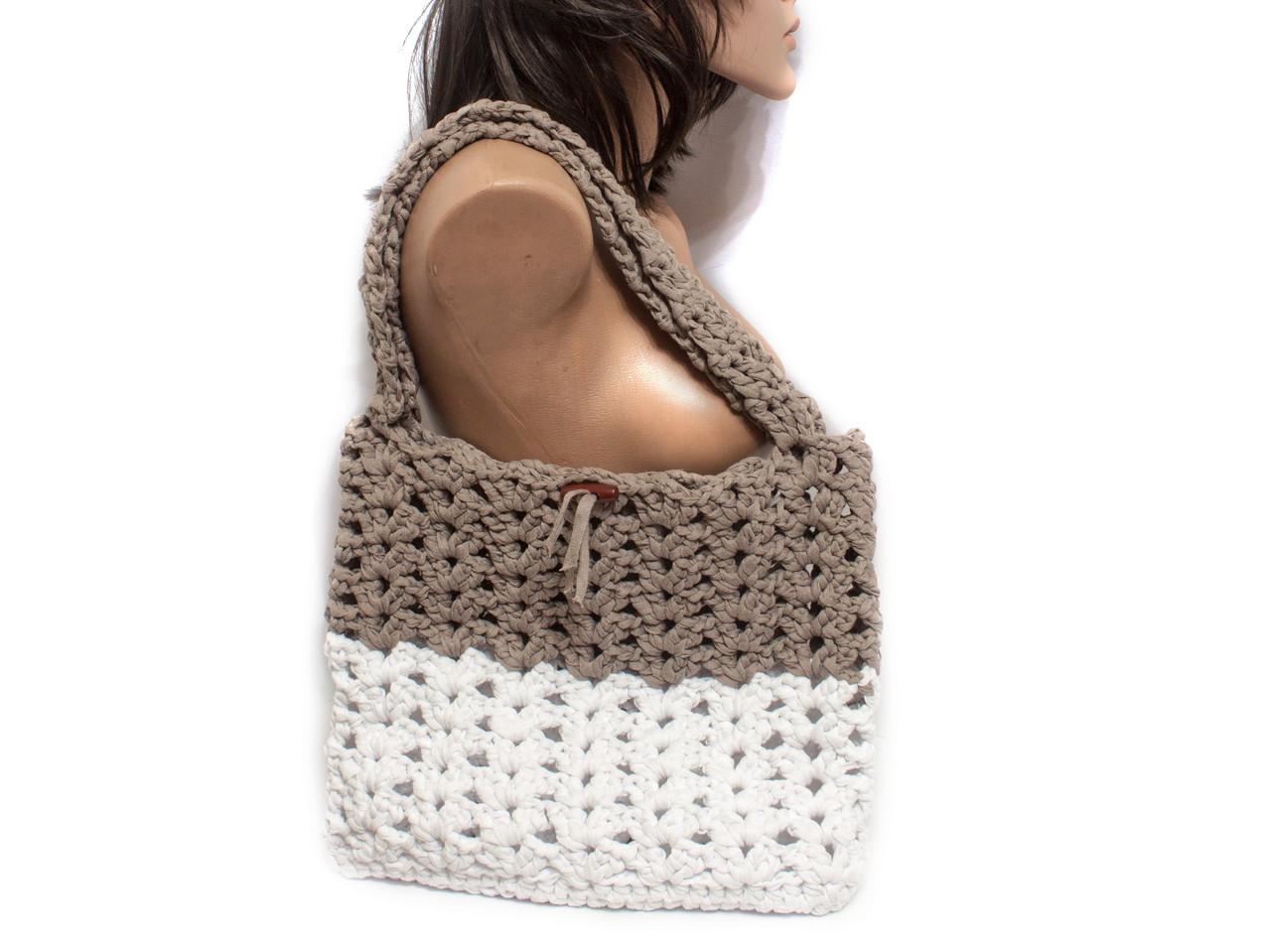 Авоська - Сумка на плечо - Пляжная сумка - Сумка для гаджетов