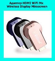 Адаптер HDMI WiFi Mx Wireless Display Mirascreen!Акция