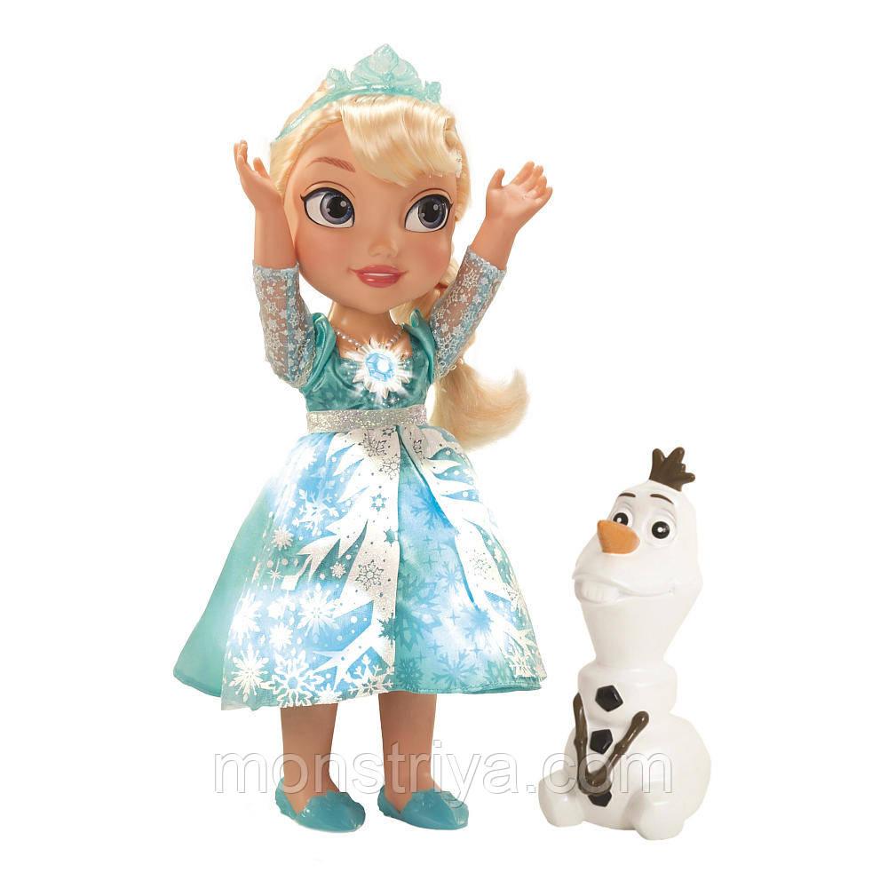 Кукла Эльза My First Disney Princess Frozen Snow Glow Elsa (Поющая Эльза из мультфильма Холодное сердце) КИЕВ.