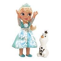 Кукла Эльза My First Disney Princess Frozen Snow Glow Elsa (Поющая Эльза из мультфильма Холодное сердце) КИЕВ., фото 1
