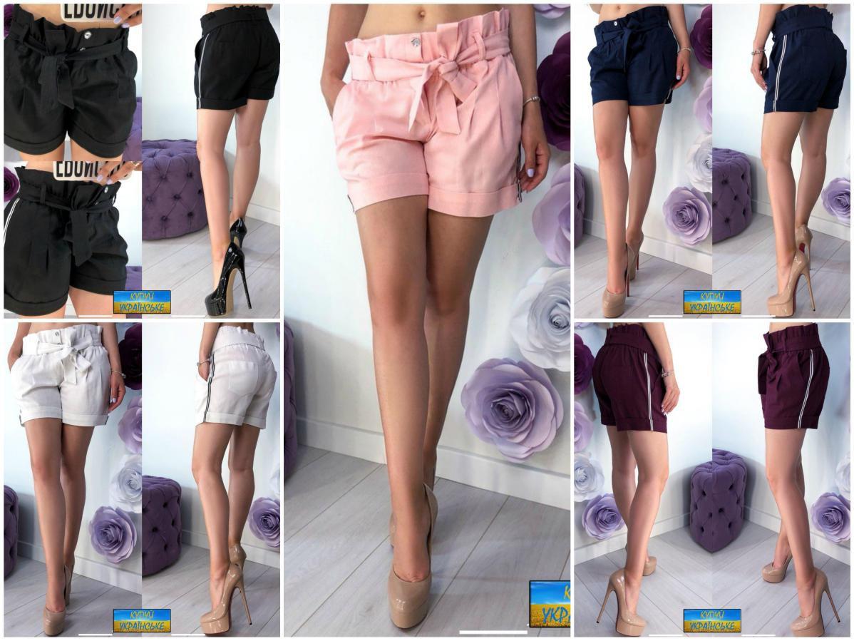 Стильные женские шорты из льна
