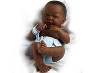Большая кукла пупс Темнокожий мальчик Berenguer 18506 36 см