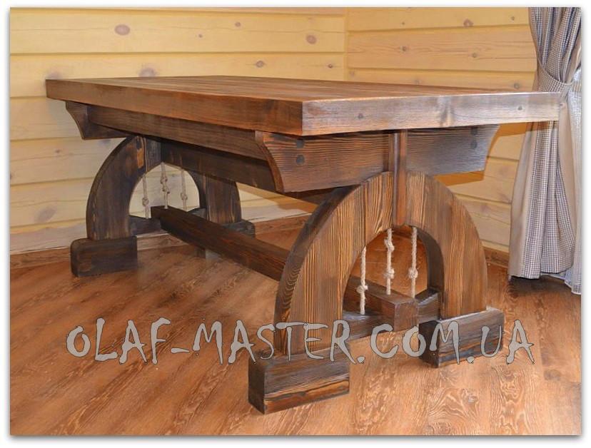 стол из дерева под старину 3 продажа цена в киеве столы обеденные от Olaf Master 727043324