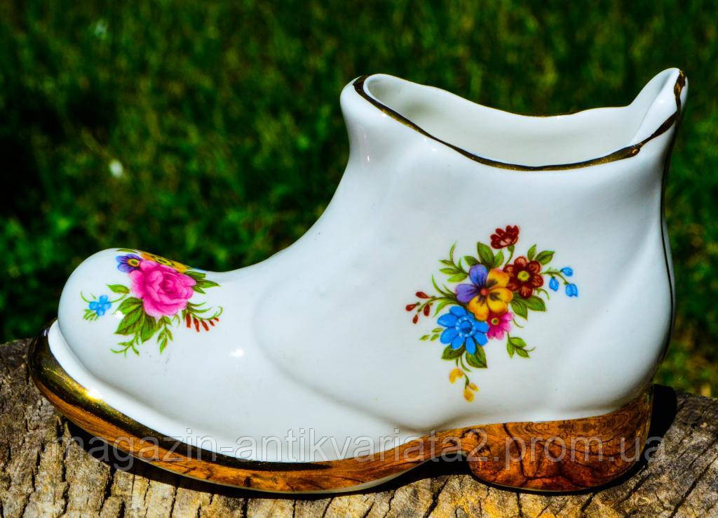 Коллекционная Туфелька,башмак,ботинок! England!