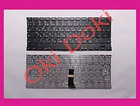 """Клавиатура APPLE MacBook Air A1369 2011 A1466 2012-2017 MC503 MC504 13.3"""" US RUS black вертикальный Enter клав"""