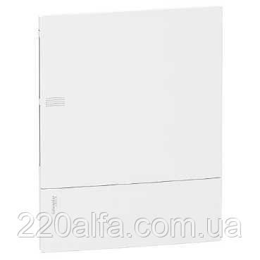 Внутренний щиток на 4 автомата MINI PRAGMA SCHNEIDER ELECTRIC ( белая дверь)