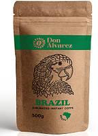 Don Alvarez Brazil 500 г кофе эконом пакет кофе растворимое сублимированное