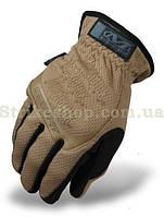 Тактичні рукавиці Mechanix FastFit Gloves Coyote Brown