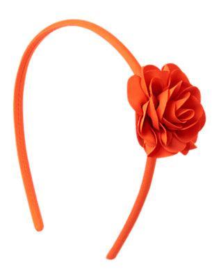 Обруч для волос для девочки с небольшим  цветочком  Gymboree (США)