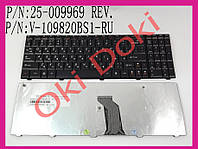 Клавиатура Lenovo G560 G565 черная