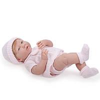 Большая кукла пупс Девочка с волосами La Newborn Lora (Лора) Berenguer 18517 38 см